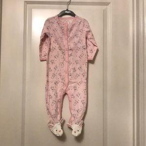 Children's place onesie pink 6-9 mo girls